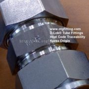 OTG D-Lok Instrumentation Tube Fitting